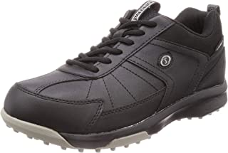 SPALDING 斯伯丁 高尔夫球鞋 运动鞋 防水 宽幅 无钉 男士 4E CIS 3550