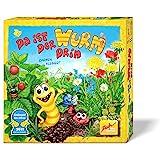 Zoch 601132100 Da ist der Wurm 在里面,儿童游戏 2011,轻柔和波浪的骰子和观察游戏 4…