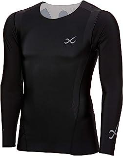 CW-X 功能上衣 Speed Model ( 圆领 长袖 ) JAO099 男士 MULTI M