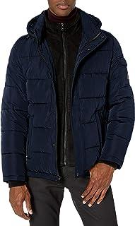 Calvin Klein 男士圍兜羽絨夾克