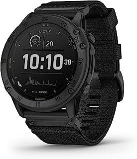 Garmin tactix Delta Solar太阳能专业战术手表,坚固耐用,符合军事标准,夜视兼容性,黑色 (010-02357-10)