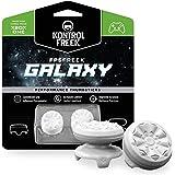 KontrolFreek FPS Freek Galaxy 白色 适用于 Xbox One 控制器 | 高性能拇指棒…