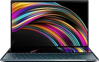 ASUS 华硕 ZenBook Pro Duo UX581 笔记本电脑,15.6 英寸 4K UHD NanoEdge 触摸屏,Intel Core 英特尔酷睿 i7-10750H,16GB 内存,1TB PCIe SSD,GeForce RT...