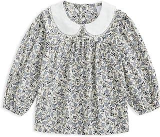 Curi 长袖女婴衬衫 春季休闲 幼童 棉质 上衣 衬衫