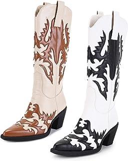 "ANN CREEK 女式 ""Claremont"" 纹理贴布靴"