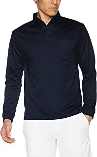 [格里玛] 4.4盎司 速干纽扣领长袖马球衫(带口袋) 00314-ABL ABL