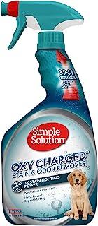 Simple Solution 氧化充电宠物污渍和异味去除剂   3 倍清洁力消除宠物污渍和异味