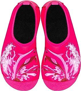 IceUnicorn 儿童沙滩游泳袜男孩女孩防滑水袜