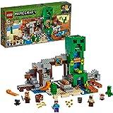 LEGO 乐高 我的世界 爬行者矿洞寻宝 21155