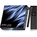 Pendoo 安卓电视盒 10.0 4GB RAM 32GB ROM,[2020 *新] X11 PRO 电视盒 All…