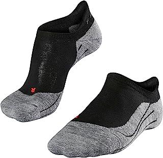 FALKE RU4 女士隐形跑步袜 - 棉混纺,1 双,不同颜色,尺码 35-42 - 带中等强度的衬垫,湿度调节,速干,减震效果
