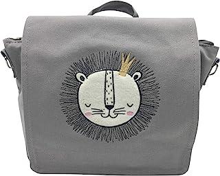 The Graäfin 幼儿园背包狮子儿童背包,30厘米,灰色