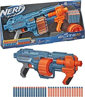 [Nerf] Elite 精英2.0 Shockwave 冲击波 RD-15 正品 E9527 附带官方弹镖30个、旋转式弹镖鼓+战术导轨