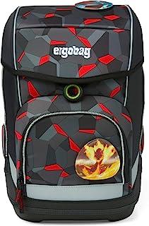 ergobag cubo 套装 符合人体工程学的书包套装 5 件套 Taekbärdo - Grau Einheitsgröße