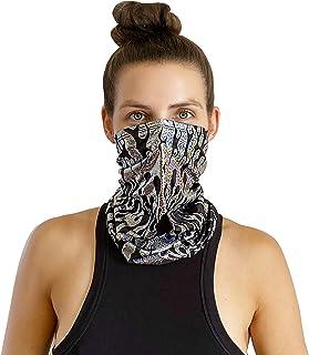 Neva 裸色弹性面罩口罩围巾头巾颈巾 - 防尘防紫外线,适合节日和户外使用