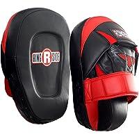 Ringside 专业穿孔手套,红色/黑色