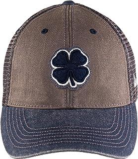 Black Clover 双色复古 16 可调节帽子, *蓝/灰色/*蓝网眼