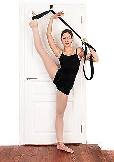 The Main Dancer - 弹力带 - 改善腿部伸展 - 芭蕾、舞蹈和体操的完美家用设备 - 送给朋友和爱人的*礼物 - 欧洲制造