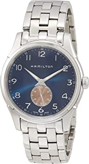 HAMILTON(哈密尔顿) Jazzmaster Thinline Small Second Quartz Jazzmaster 石英 40.00MM 蓝色×银色