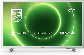 Philips 飞利浦 32PFS6855/12 LED 电视,银色,全高清,三调谐器,智能电视