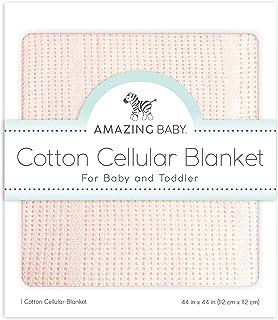 神奇宝贝 cellular 毛毯,高级棉质 Sunwashed Pink