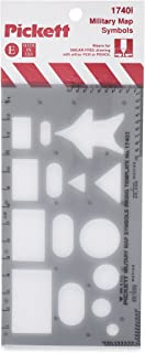 Pickett 军事地图符号模板 (1740I)