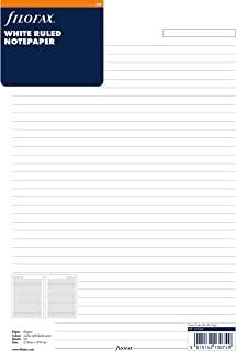 filofax 斐来仕 293008 a4 活页替芯配件 A4 横线页