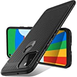 Luibor 適用于 Google 谷歌 Pixel 5 手機殼,黑色硅膠手機殼,適用于 Google Pixel 5…