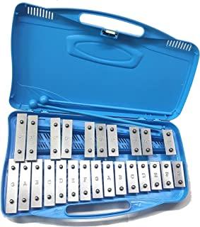 Alysée - MT25-CR-BL 25 音符色金属琴 - 蓝色