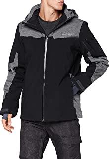 Spyder 男式 Chambers Gore-Tex 滑雪夹克 – 男式全拉链连帽冬季
