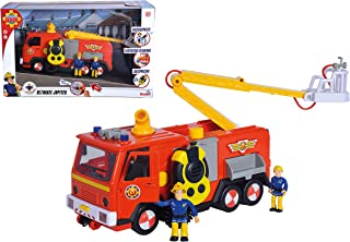 Simba 109251085038 消防车 Deluxe Jupiter 带 2 个 Sam 和 Penny,3 年