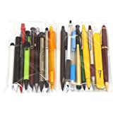 [Takizawa] 纯日本制造 昭和之町工厂限量15种自动铅笔套装+3种赠品 颜色不可选择 1套袋装 O-JPSP15…