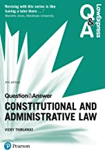 Law Express Question and Answer: Constitutional and Administrative Law (Law Express Questions & Answers) (English Edition)