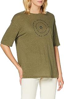 Superdry 极度干燥 女士沙漠亚麻 T 恤上衣