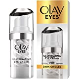 olay eyes illuminating eye cream for dark circles, 15 ml