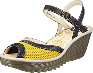 FLY London 女式高跟露趾凉鞋