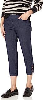 SLIM-SATION 女士拉式纯色紧身胸衣,正面和背面口袋及肩带