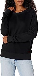 n:PHILANTHROPY 女式黑鸟运动衫