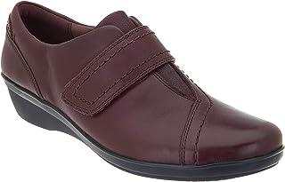 Clarks Everlay Dixey 女士滑入式皮革乐福鞋