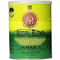 Reggie's Roast 牙买加蓝山内格里尔混合全豆咖啡,12盎司(340g)罐装,3罐装