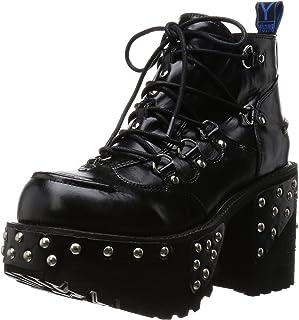 [YOSUKE] 硬厚底系带短靴 2600579