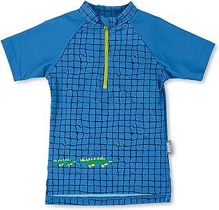 Sterntaler 思丹乐 婴儿 - 男童短袖游泳衫,防紫外线 50+,颜色:蓝色