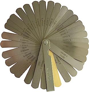 专业 32 件不锈钢可折叠感测隙测量工具