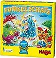 Haba 303402 Funkelschatz 闪光宝藏桌游 有趣的携行游戏 适于2-4位5岁以上儿童玩家 带有90块闪光石和9枚冰环 很棒的生日礼物