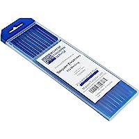 """TIG 焊接钨电极 2% Lanthanated (蓝色,WL20) 10 件装 0.040"""" 40400-blue"""