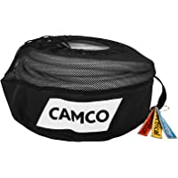 Camco RV 设备存储实用袋,带标识标签,方便存放电源线、淡水软管和下水管软管(53097)