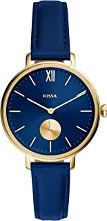 Fossil Kalya 三指针皮革手表 – ES5042
