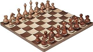 Umbra Wobble 国际象棋套装,胡桃