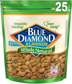 Blue Diamond Almonds 天然杏仁,25盎司/709克