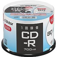 Victor Victor 1次录音用 CD-R AR80FP50SJ2 (单面1层/80分/50张)